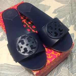 Tory Burch Slides, never used